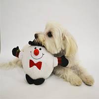 Trixie TX-92493 рождественская игрушка для собак 18см из плюша с голосом (1шт), фото 1