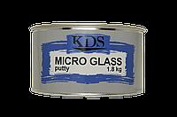 Шпатлевка со стекловолокном KDS Micro Glass 1,8 кг