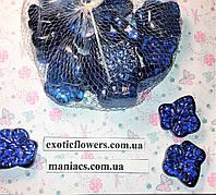 Декоративный стеклянный камень, Листик, фото 1
