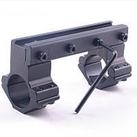 Крепление для оптики 25,4мм, на ласточкин хвост, кольца для прицела, кронштейны оружейные, фото 1