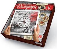 Творческий набор Decoupage Clock с рамкою Данко Тойс