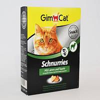 Gimpet Schnurries витамины для кошек с таурином и ягненком 650 шт (406886)