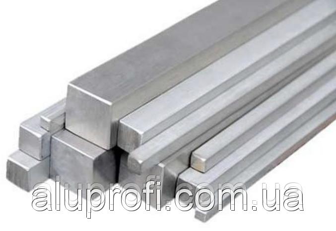 Квадрат алюминиевый 100х100мм Д16