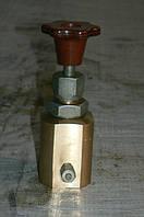 Подпорный клапан 086.02.57.0130