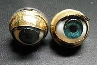Глазки закрывающиеся с  ресничками TS-22