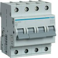 Автоматический выключатель MC450А 4Р 50А 6kA C Hager