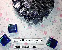 Декоративный стеклянный камень, Кубик