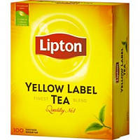 Чай черный байховый Lipton Y L 100 пакетов по 2 грамма