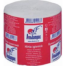 Бумага туалетная Альбатрос рулонная серая
