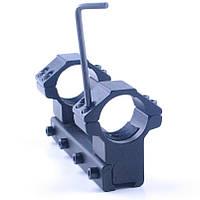 Кольца 25,4мм для крепления оптического прицела, крепление ласточкин хвост, моноблок