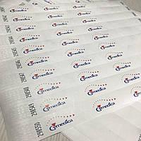 Полноцветная печать логотипа на браслетах Tyvek от 1000 шт, фото 1