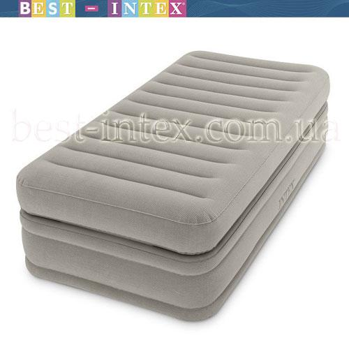 Велюр кровать 64444 с встроенным эл насосом 220В, 99-191-51см