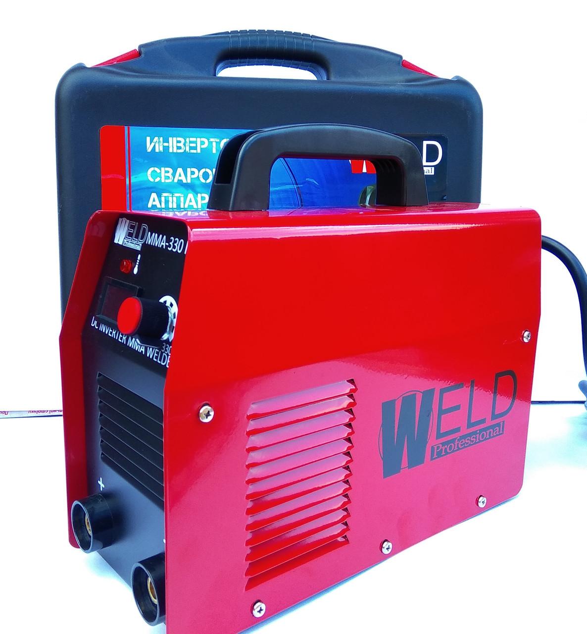 Зварювальний інвертор Weld IWM MMA-370 (в кейсі)
