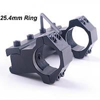 Моноблок 25,4мм для крепления оптического прицела, на ласточкин хвост, кольца и моноблоки, кронштейны, фото 1