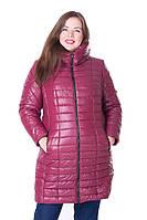 Куртка зимняя женская большого размера 73 Ирмана (5 цветов),  зимова жіноча куртка великого розміру