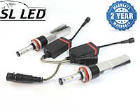 LED лампы в головной свет серии SLP7С Цоколь H11,H8, H9, 29W, 3600 Люмен/Комплект