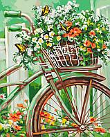 """Картины по номерам """"Цветы Прованса"""" [40х50см, С Коробкой]"""