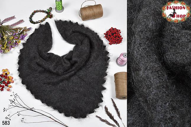 Оренбургский пуховый платок Изабелла 100см, фото 2