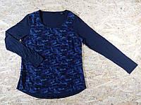 Спортивная блуза блузка футболка с длинным рукавом от тсм Tchibo наш 42-44
