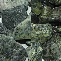 Мраморная галька зеленая Верде Роял (Греция)