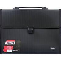Портфель пластиковый Axent А4 3 отделения черный Арт. 1601-01