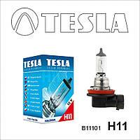 Лампа галогенная Tesla Н11 (PGJ19-2) 12V, 55W B11101