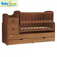 Кроватка-трансформер BabySleep Angela Nussbaum