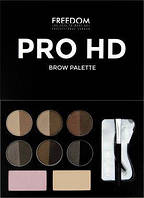 Палітка для брів Freedom Makeup London Pro HD Brow Palette - Fair Medium
