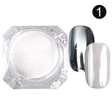 Зеркальная пудра №1 (серебро)