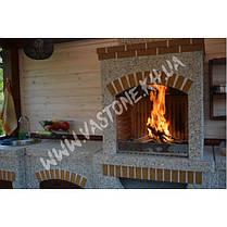 Камин, печь барбекю «Манчестер» в комлекте, фото 3