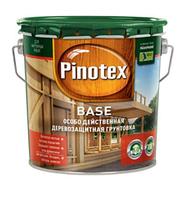 Бесцветная деревозащитная грунтовка PINOTEX BASE (3л.)