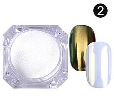 Зеркальная пудра №2 (золото)