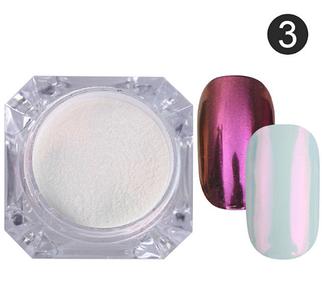 Зеркальная пудра №3 (розовая)