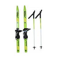 Лыжный набор Stiga Snow Fling Green 90 cm, зелёные (75-1139-09)