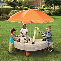 Песочница Little Tikes Песочница-стол Веселая стройка (401N)