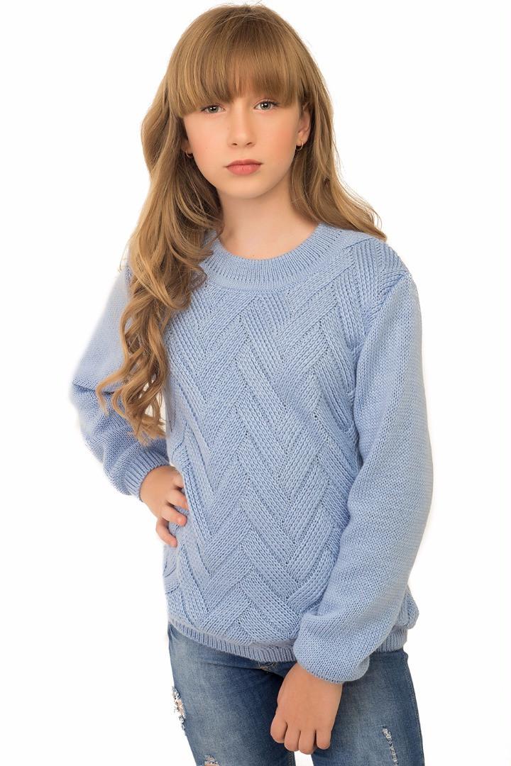 Джемпер, свитер теплый для девочки.