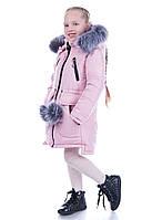 """Зимнее пальто на девочку """"Элен"""""""