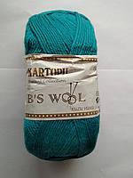Полушерстяная Kartopu Lambs Wool 542