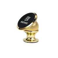 Держатель для телефона в авто Remax (OR) RM-C18 Gold (Magnetic на приборную панель)