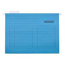 Файл подвесной Donau А4 картон синий Арт. 7410905-10