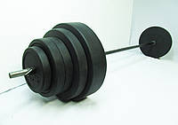 Штанга 95 кг гриф 30 Ø + гриф кривой