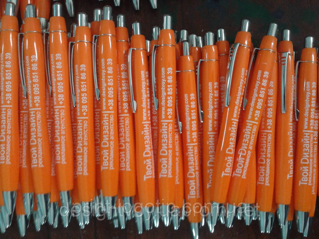 Рекламные ручки с логотипом, напечатать в Киеве