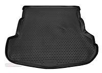 Коврик в багажник для MAZDA 6 с 2008-2013, кузов седан, цвет:черный, NovLine