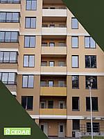 Фиброцементные фасадные плиты Cedar для межбалконных перегородок