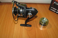 Катушка БИ металл Fishing reel YF1000B 10+1BB