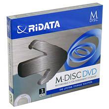 Диск DVD-R Ridata 4,7GB 4x M-disk Slim 3 шт