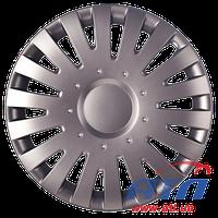 """Malachit 16"""" grafit  колпак пластмасовый для колес авто (230426)"""