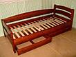 """Кровать """"Марта"""" (200*200см), массив - сосна, ольха, береза, дуб., фото 4"""