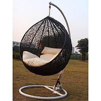 Подвесное кресло-качели Украинские конструкции Подвесное кресло Gardi Black