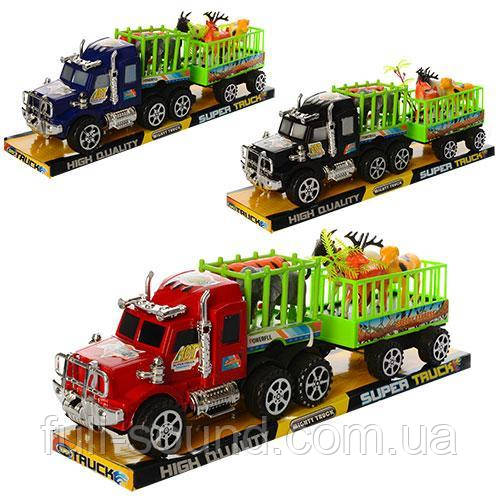 Машина транспортер с животными 906